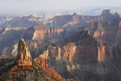 Grand Canyon from Bright Angel Point royalty free stock images
