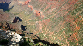 Grand Canyon – Bright Angel Trail Royalty Free Stock Photography