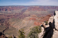 Grand Canyon in bright sun light Royalty Free Stock Photo