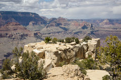 Grand canyon. In bright sunny day Stock Image