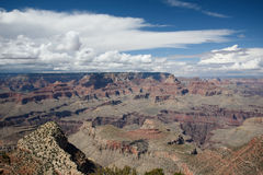 Grand canyon. In bright sunny day Royalty Free Stock Photo