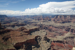 Grand canyon. In bright sunny day Stock Photography