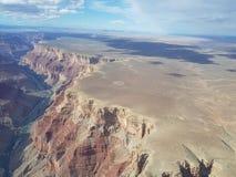 Grand Canyon, burrone, gioco di colore fotografia stock libera da diritti