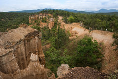 Grand Canyon in Chiang Mai Lizenzfreies Stockfoto