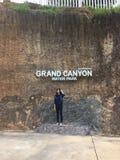 Grand canyon at chiangmai royalty free stock photo