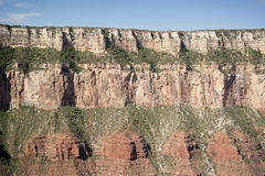 Grand Canyon cliff Stock Photography