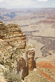 Grand Canyon cliffs royalty free stock image