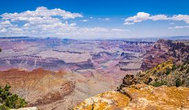 Grand Canyon Grand Canyon on the Colorado Plateau. Journey through the US Natural Parks royalty free stock photos