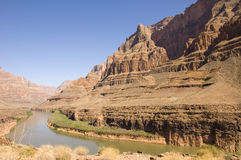 The Grand Canyon and Colorado River Royalty Free Stock Photo