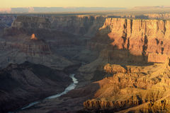 Grand Canyon Colorado River Royalty Free Stock Images