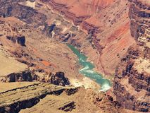 Grand Canyon: Colorado River, close view Stock Images