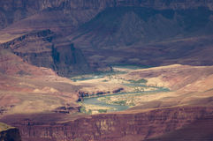 Grand Canyon and Colorado River Royalty Free Stock Photo