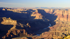 Grand Canyon Colorado River Royalty Free Stock Photos