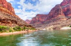 Grand Canyon. Colorado River flowing through Grand Canyon Royalty Free Stock Photos