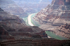 Grand Canyon and Colorado river, National Park, Arizona, USA Royalty Free Stock Photo