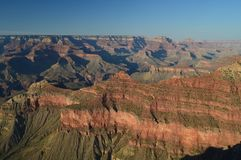 Grand Canyon Of The Colorado River. South Kaibab Trailhead. Geological formations. June 22, 2017. Grand Canyon, Arizona, USA. EEUU Stock Images