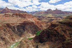 The Grand Canyon of The Colorado River on a Sunny Day. Royalty Free Stock Photography