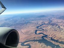 Grand Canyon from the Air Stock Image
