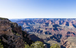 Grand Canyon Colorados, von der Südkante, Arizona Stockbild
