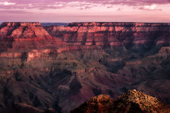 Grand canyon colorful sunrise landscape Stock Photography