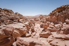 Grand Canyon, désert noir et blanc, Egypte Photo stock