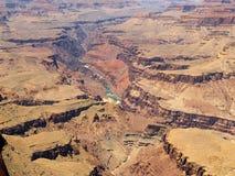 Grand Canyon: Das Kolorado Lizenzfreie Stockbilder