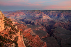 Grand Canyon at Dawn Royalty Free Stock Photos