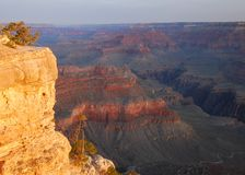 Grand Canyon Dawn. Dawn from Yavapai Point in the Grand Canyon, Grand Canyon National Park, Arizona Stock Photos