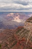 The Grand Canyon By Day. Impression of the South Rim of the Grand Canyon, during the day royalty free stock photography
