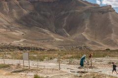 Grand Canyon de Afeganistão Imagem de Stock