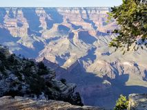 Grand Canyon de exploraci?n Arizona los E.E.U.U. fotos de archivo