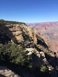 Grand Canyon de surpresa fotografia de stock