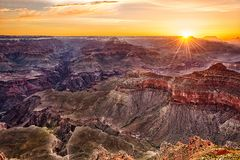 Grand Canyon in de V.S. stock afbeelding