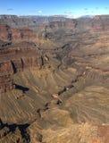 Grand Canyon in de winter, de V.S. Royalty-vrije Stock Afbeeldingen