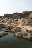 Grand Canyon del bok di Samphan (bok 3000) della Tailandia Ubonrachatani Immagine Stock Libera da Diritti