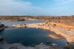 Grand Canyon del bok di Samphan (bok 3000) della Tailandia Ubonrachatani Fotografie Stock Libere da Diritti