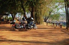 Grand Canyon del Siam con il Mekong è nome Sam Phan Bok (tre mila fori) a Ubon Ratchathani Tailandia Immagine Stock Libera da Diritti