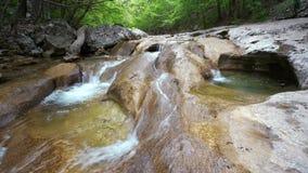 Grand Canyon della Crimea - un posto pittoresco nella Repubblica di Crimea archivi video