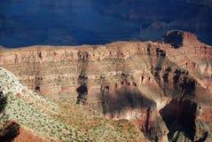 Grand Canyon der Hubschrauberansicht lizenzfreie stockfotos