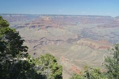 Grand Canyon des Kolorado-Flusses E Geologische Anordnungen stockfotos