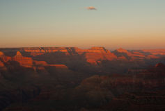 Grand Canyon des Sonnenuntergangs Stockbilder
