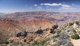 Grand Canyon Desert View Stock Images