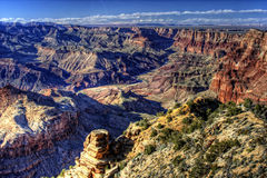 Grand Canyon from Desert View Point Stock Image