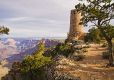 Grand Canyon Desert View Watchtower Stock Images