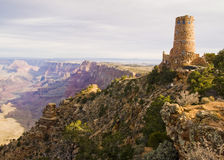 Grand Canyon Desert View Watchtower Royalty Free Stock Images