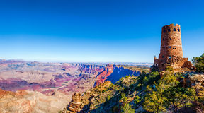 Grand Canyon Desert View Watchtower, Arizona. Royalty Free Stock Photography