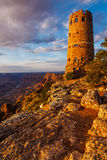 Grand Canyon Desert View Watchtower stock photo