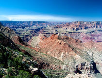 Grand Canyon from Dessert view. View from Dessert view on the South rim of the Grand Canyon Royalty Free Stock Image