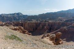 Grand Canyon di Charyn nel Kazakistan Immagini Stock Libere da Diritti