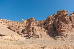 Grand Canyon di Charyn nel Kazakistan Immagine Stock Libera da Diritti